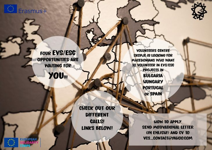 EVS/ESC Opportunities waiting for YOU !!!