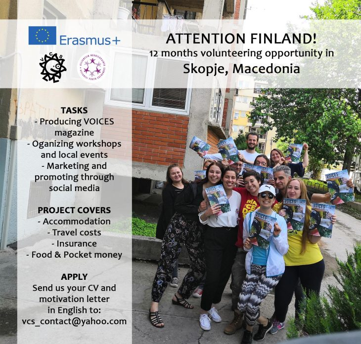 (English) Looking for volunteer from FINLAND!