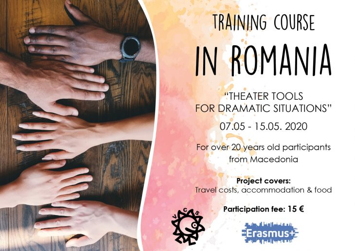 Call for participants for Training Course in Romania!