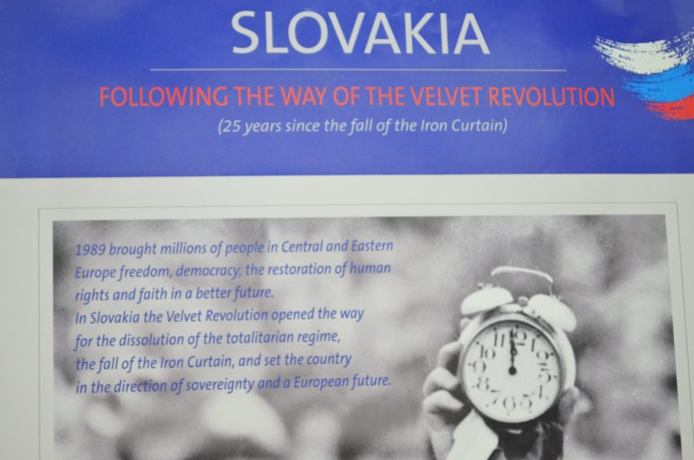Exhibition dedicated to 25th Anniversary of the Velvet Revolution