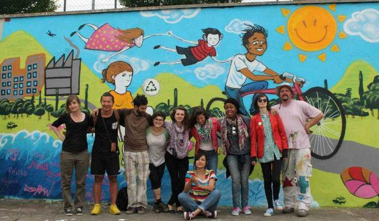 """""""Youth centers: Sustainability and creative expression for youth inclusion"""""""