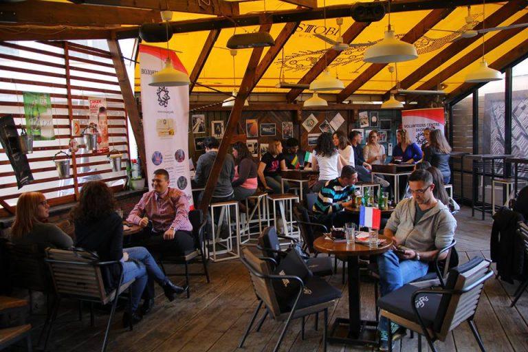 Language Café in March