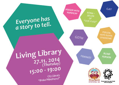 'Living Library: 2nd edition'- Everyone has a story to tell