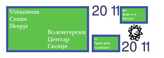 Year 2011 in Volunteers Centre Skopje in facts and numbers