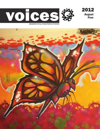 August Issue of VOICES magazine