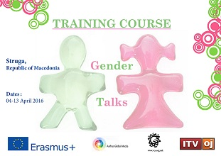 The Training Course 'Gender Talks' in Struga, Macedonia from 4th to 13th April 2016