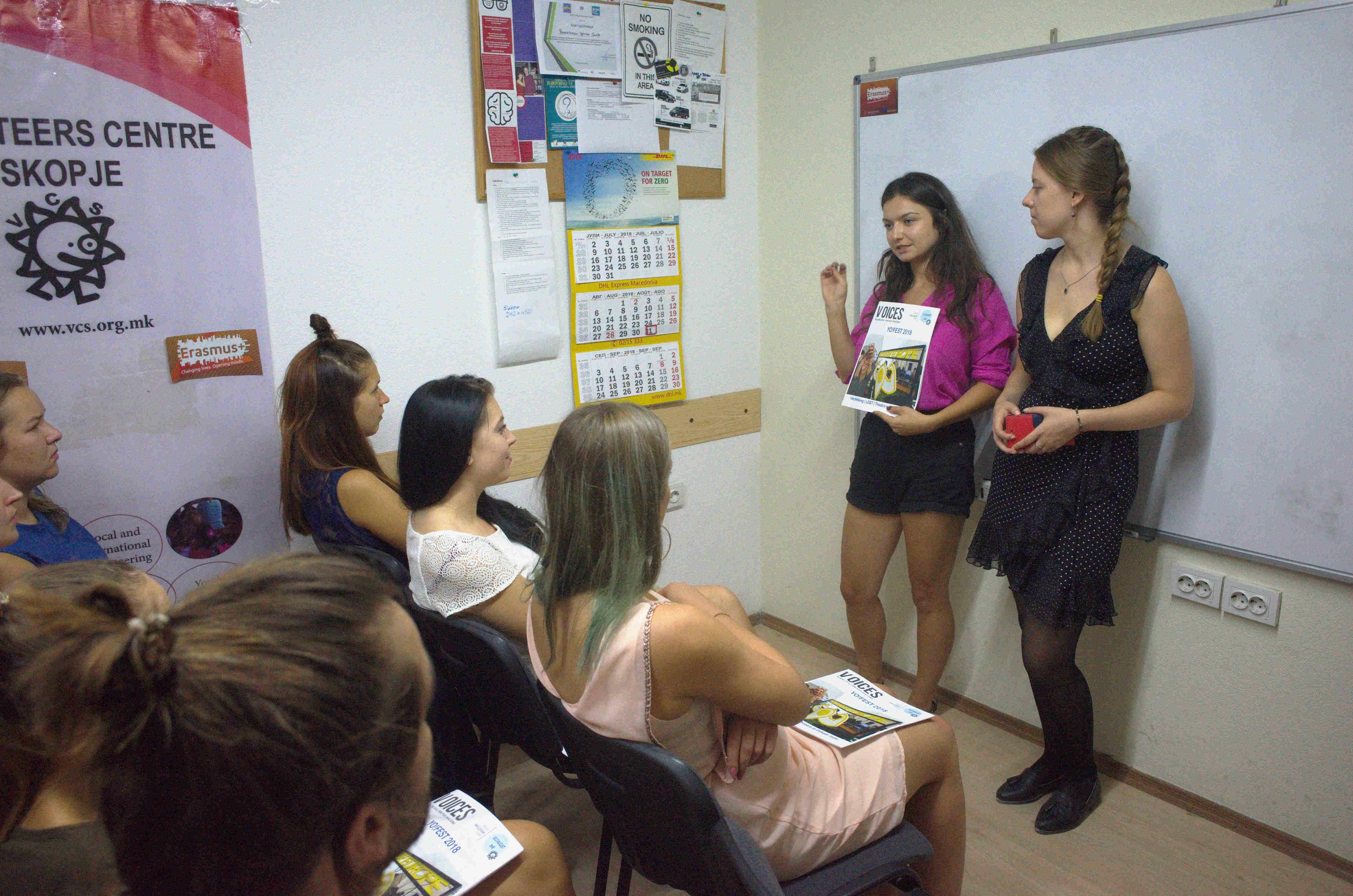 "Volunteers Centre Skopje hosting ""EVS as One more step toward Inclusion!"""
