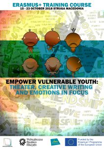Empower Vulnerable Youth: Theater, Creative Writing and Emotions in Focus.