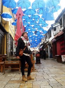 Welcome Astrid, our new Volunteer from France!