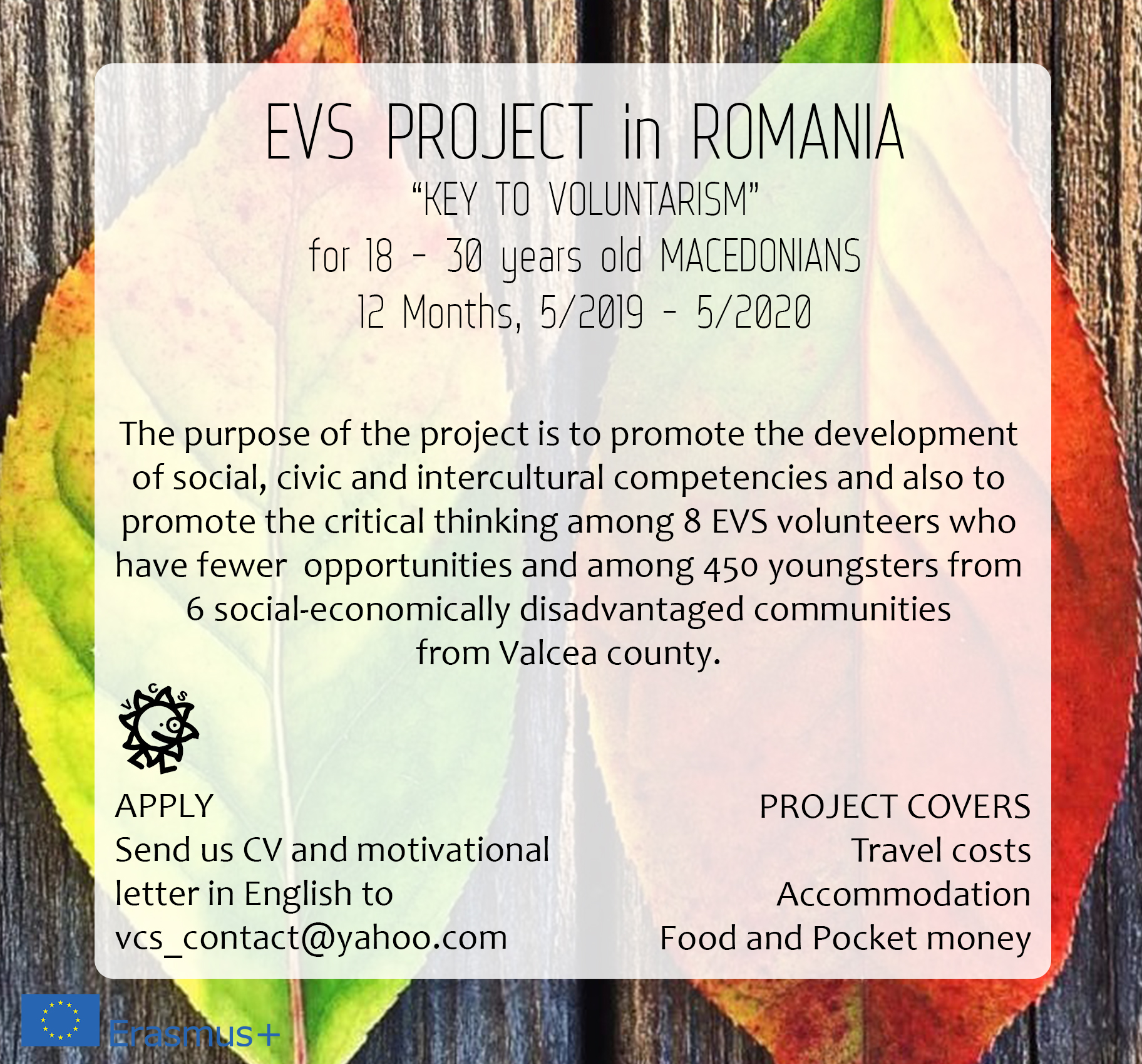 "EVS in Romania ""KEY TO VOLUNTARISM"""