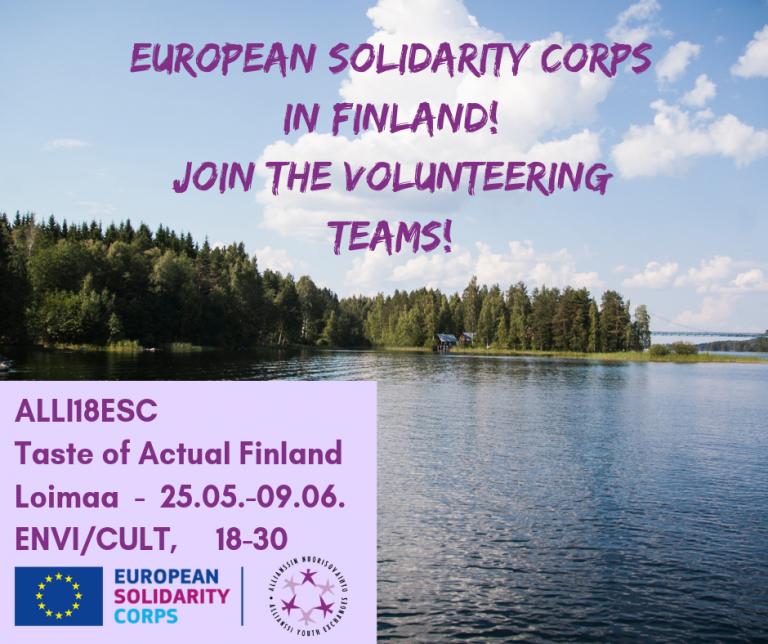 2 волонтерски проекти во Финска!