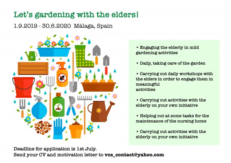 Дали сакаш да работиш со постари луѓе?