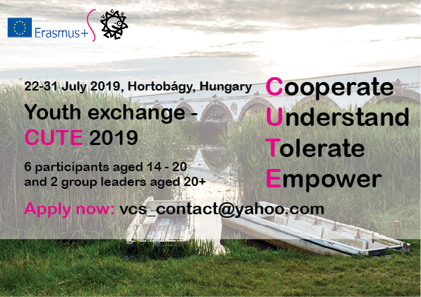 Youth Exchange CUTE 2019 – Hungary