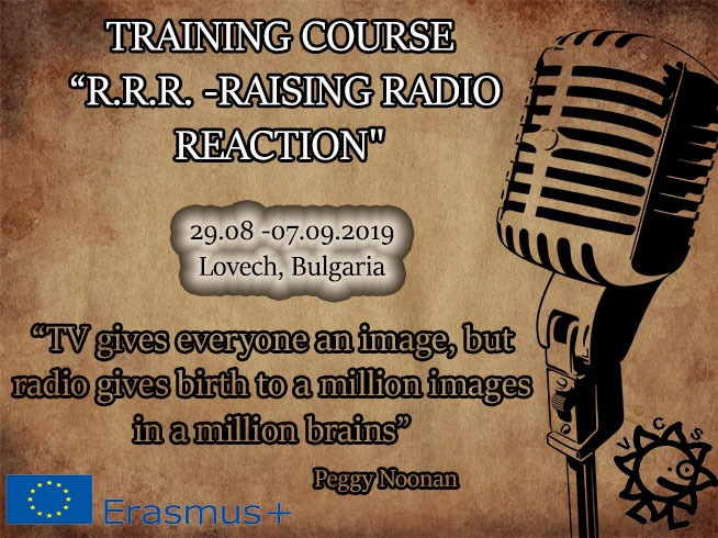 "Call for Participants for TC ""R.R.R. – Raising Radio Reaction"" in Bulgaria"