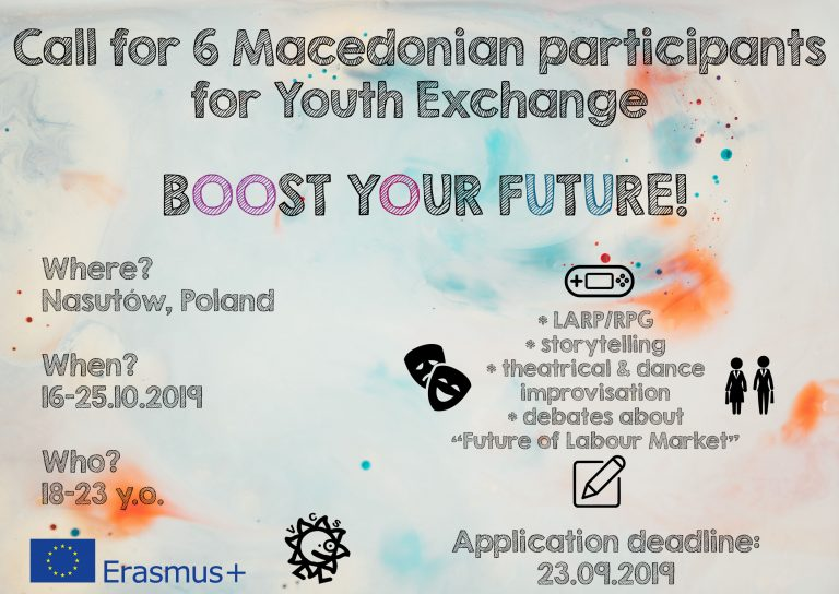 Call for participants for Youth Exchange in Poland!
