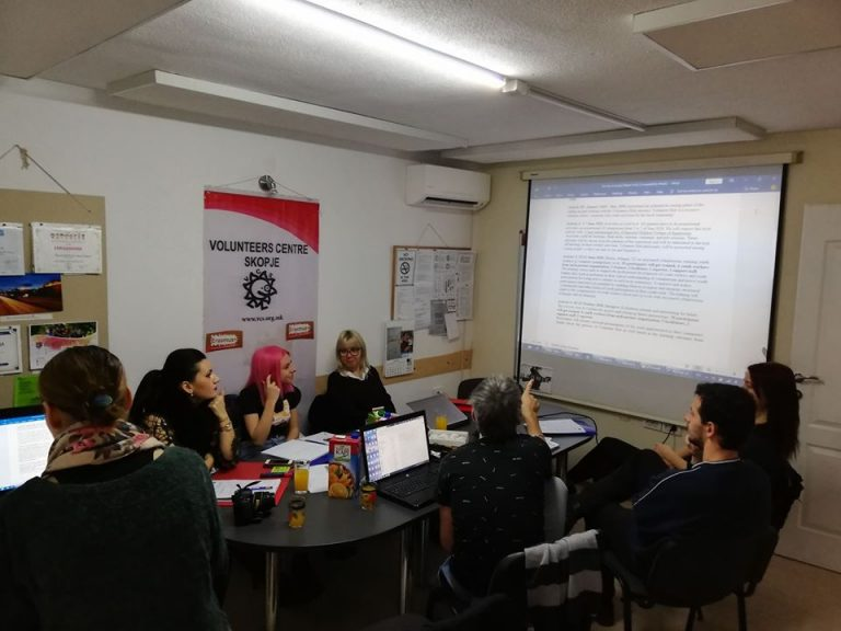 "Kickoff meeting for a project ""Volunteering Connecting Communities"""