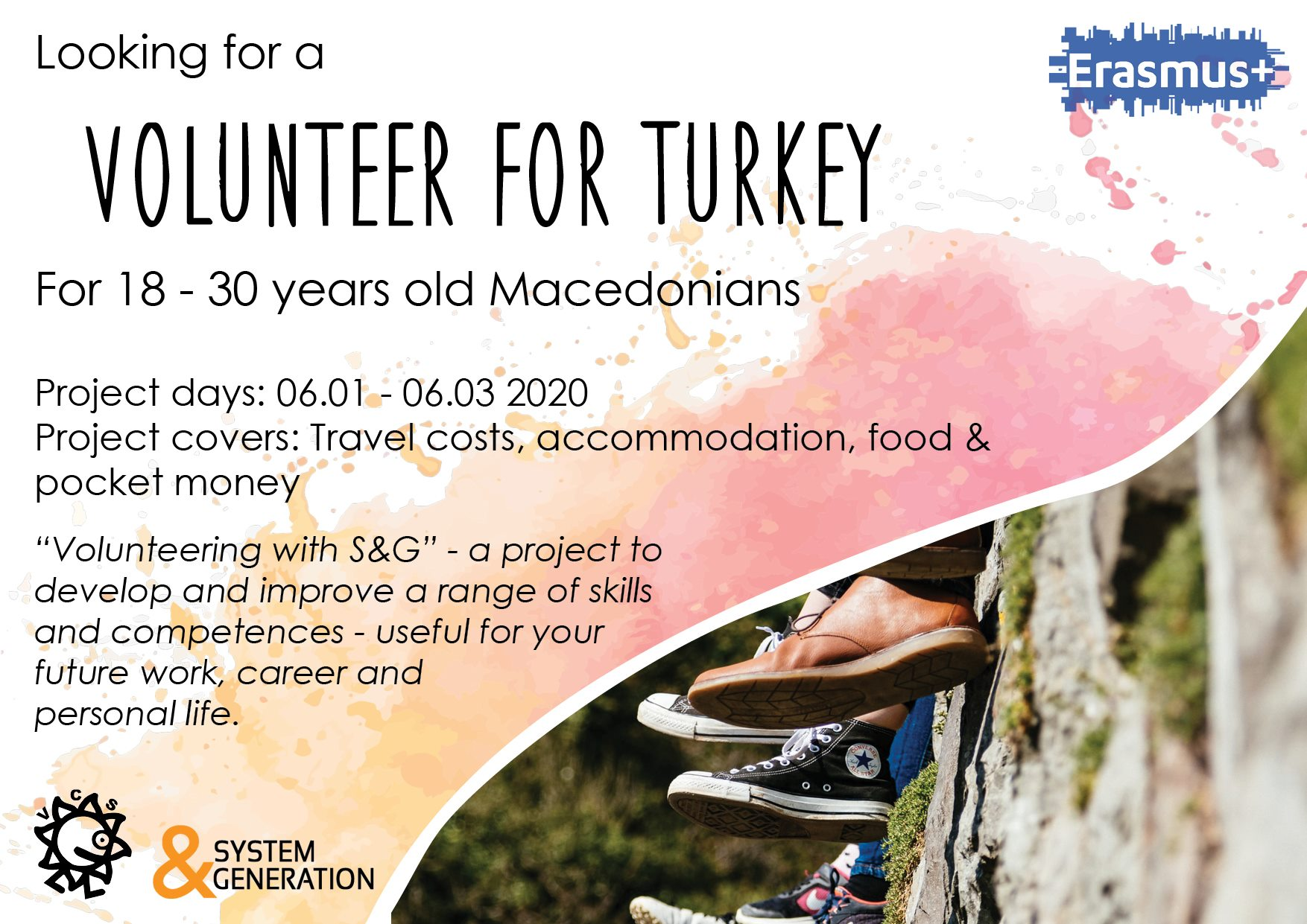 Looking a volunteer for Turkey!