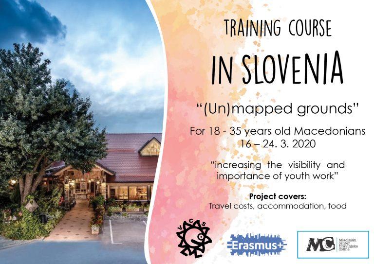 Повик за учесници за тренинг курс во Словенија!