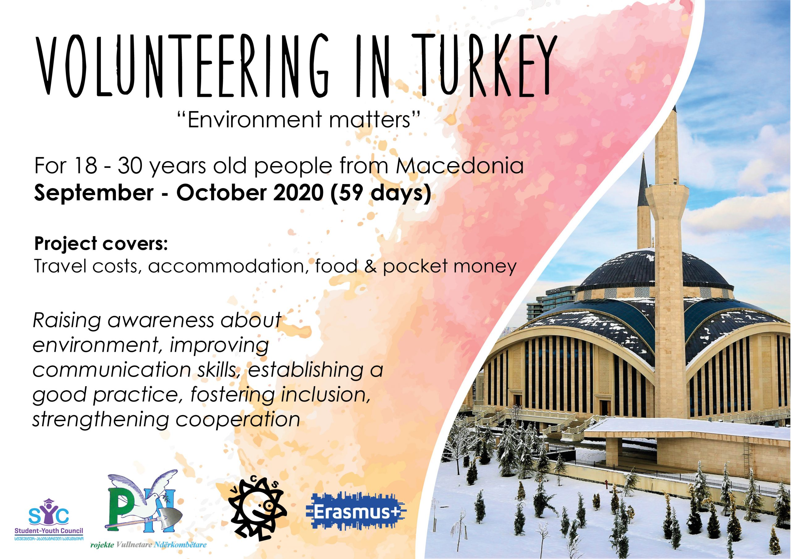 Call for volunteers in Turkey