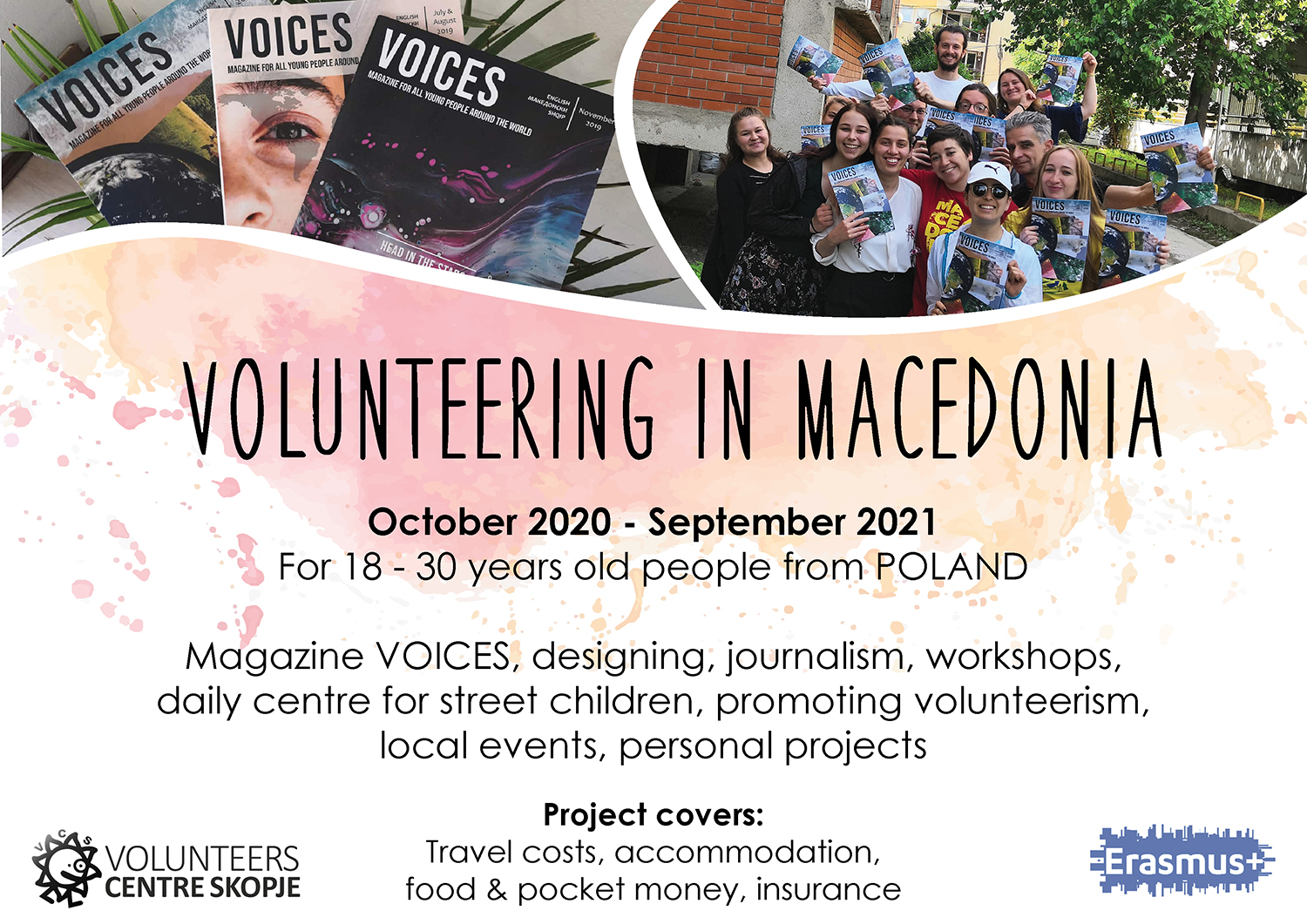 Call for volunteers from Poland to Macedonia!