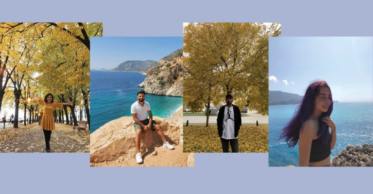 Welcome to our new volunteers from Turkey: Meet Deniz, Senem, Enes and Eren