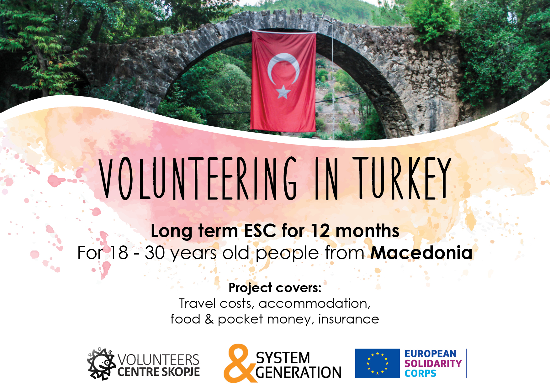 Call for volunteers in Turkey!