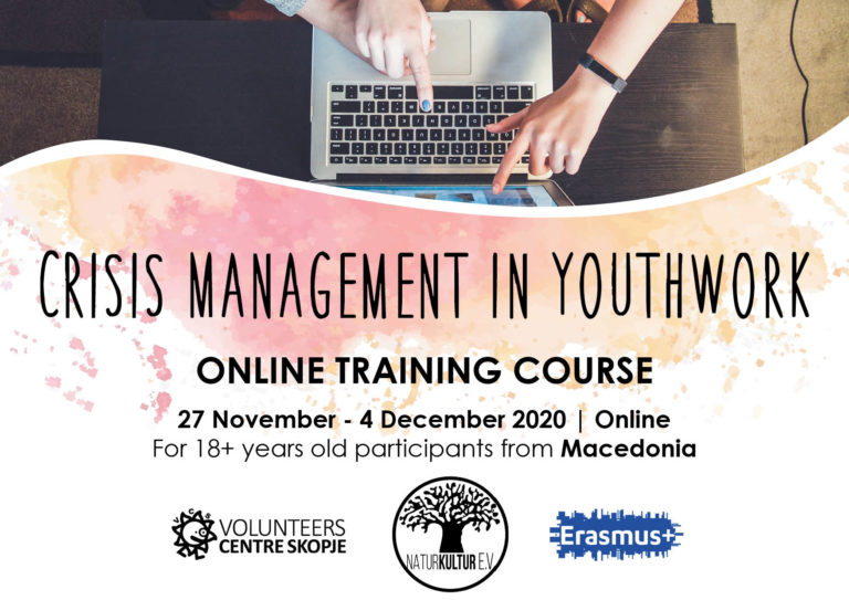 "Online Training ""Crisis Management in Youthwork"""