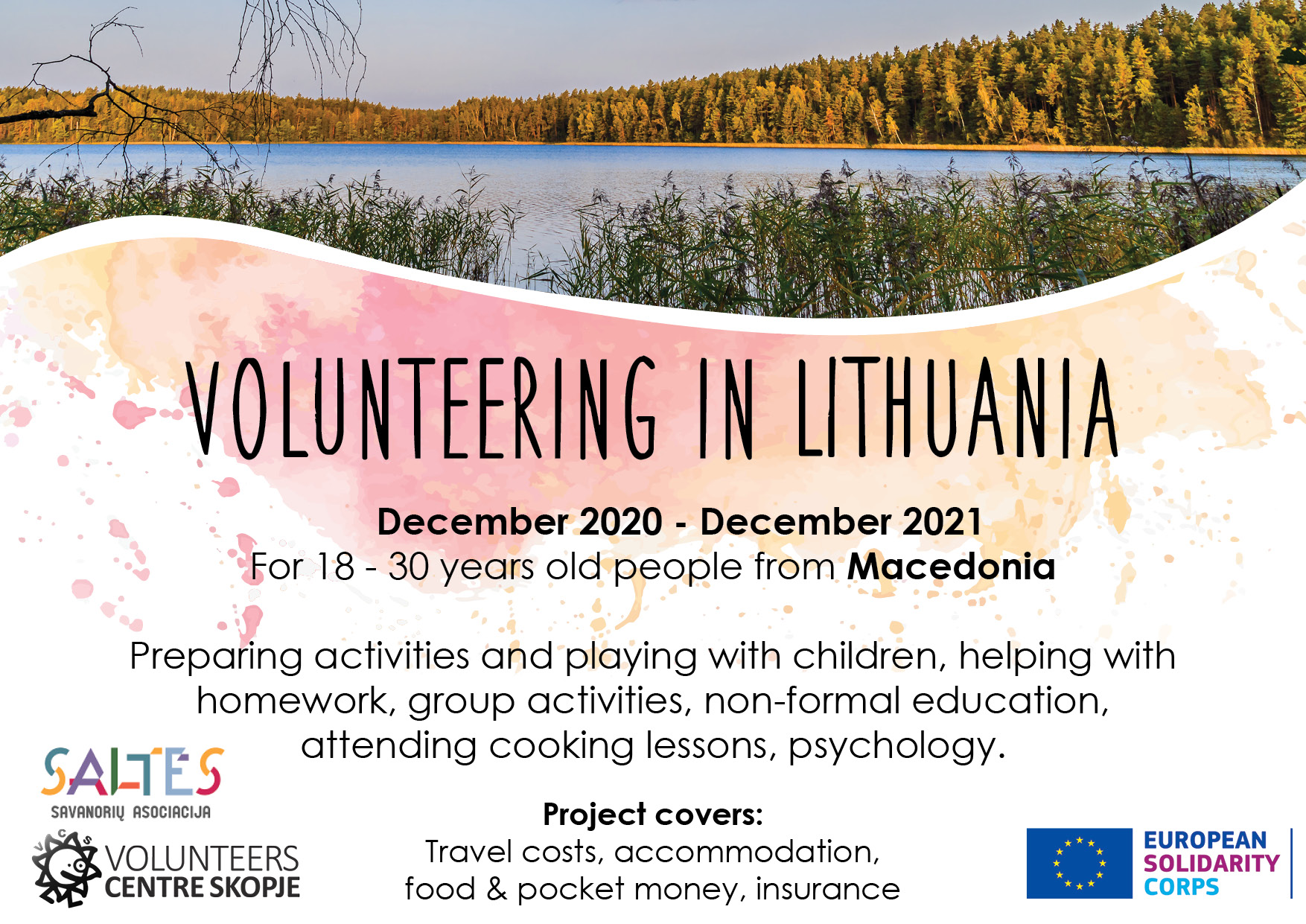 Call for volunteer in Lithuania!