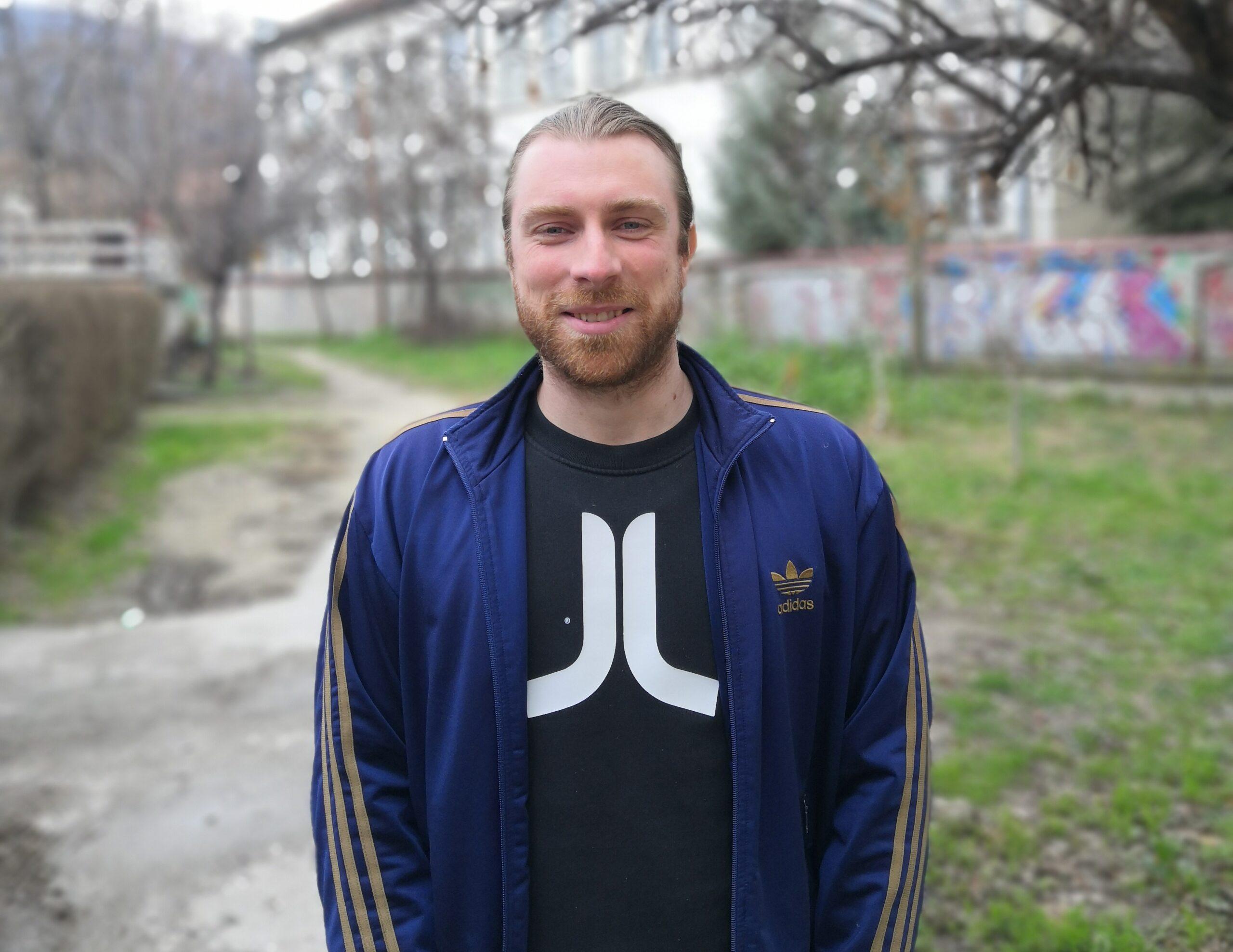 Нова година, нов волонтер! Здраво Крис од Германија