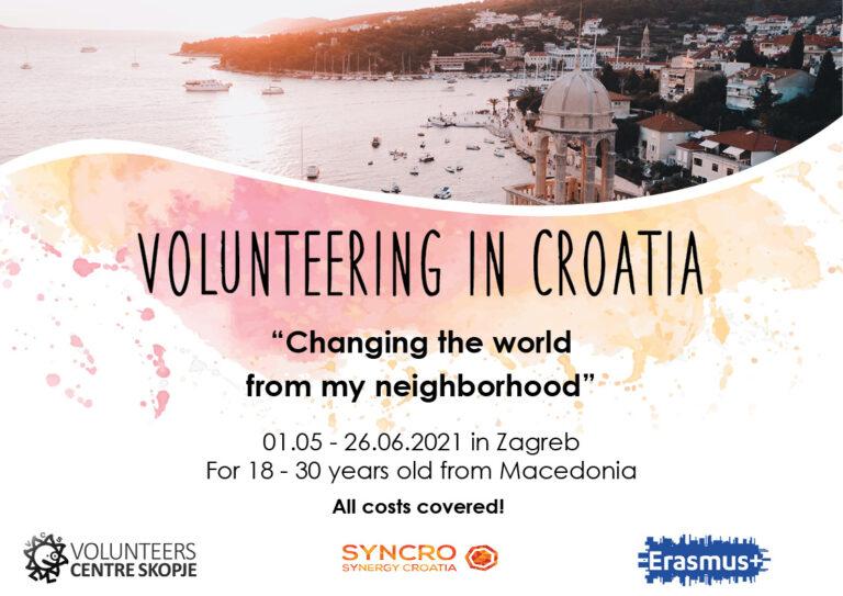 Volunteering in Zagreb, Croatia