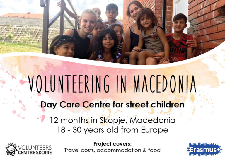 Volunteering in Macedonia – Day Care Centre for street children