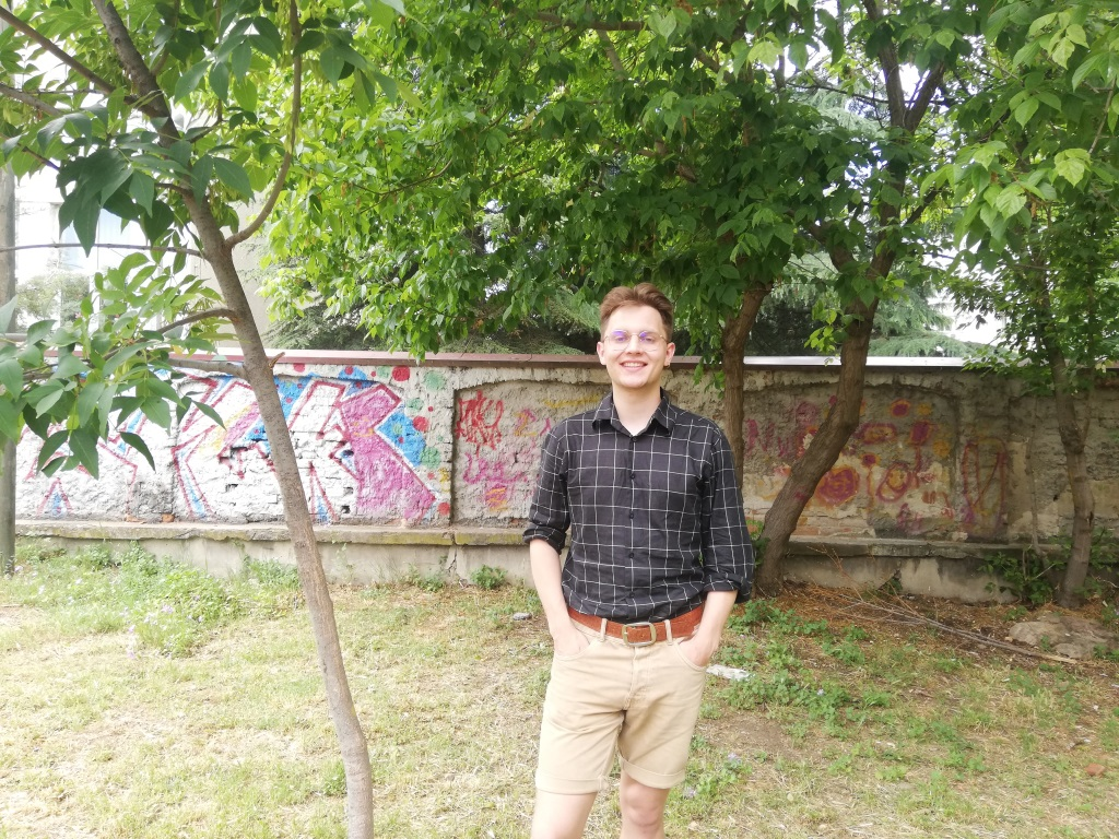 A volcano of energy and positivity: welcome Kacper from Poland
