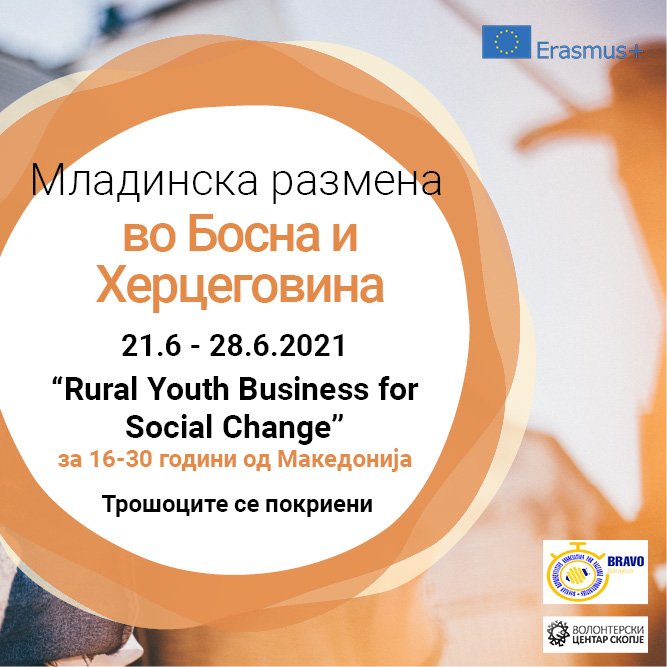 Call for a Youth Exchange in Bosnia and Herzegovina!