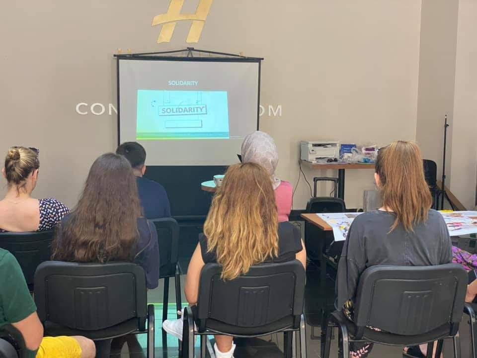 "TC in Durres: ""Volunteering connecting communities 2.0"""