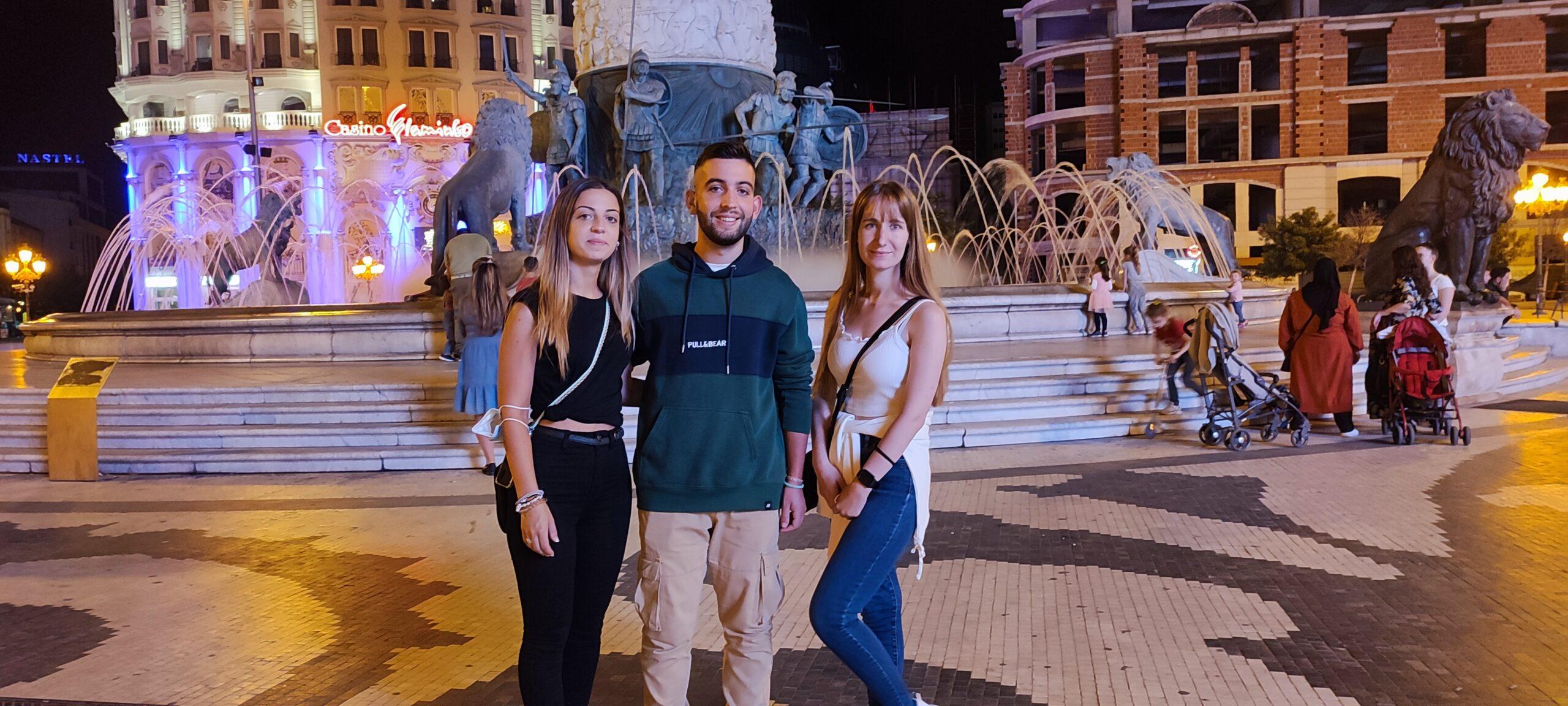 Добредојде во ВЦС за нашето ново шпанско трио:  Андреа, Мигел и Елена!